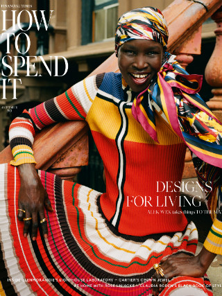 Alek Wek for How To Spend It